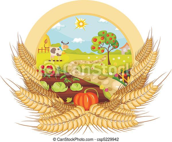 Tarjeta de granja - csp5229942