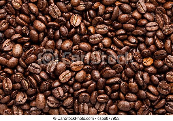 Frijoles de café - csp6877953