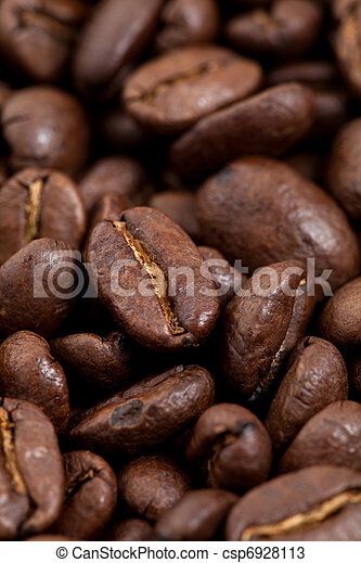 Frijoles de café - csp6928113