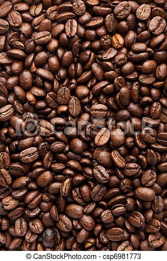 Frijoles de café - csp6981773
