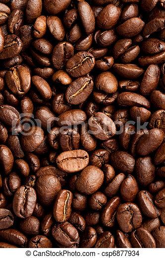 Frijoles de café - csp6877934