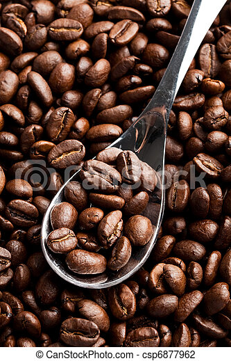 Frijoles de café - csp6877962