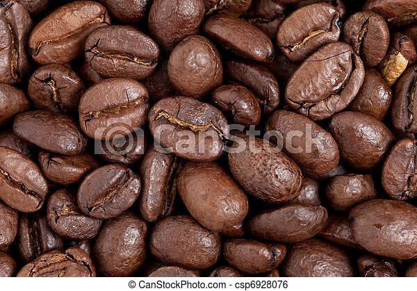 Frijoles de café - csp6928076