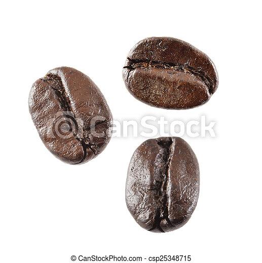 Frijoles de café - csp25348715