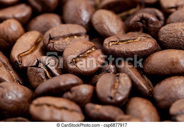 Frijoles de café - csp6877917