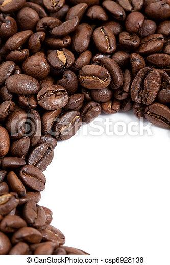 Frijoles de café - csp6928138