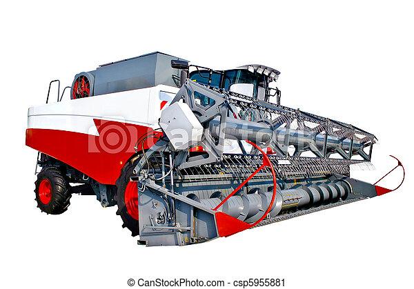 La cosechadora de granos - csp5955881