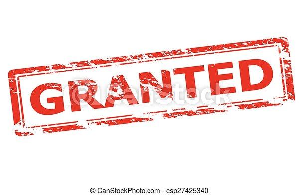 Granted - csp27425340