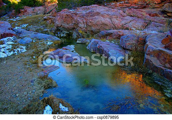 Grape Creek Ravine - csp0879895