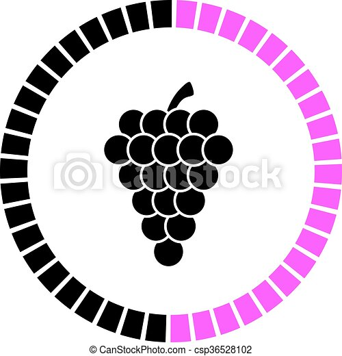 grape vector icon vector clipart search illustration drawings and rh canstockphoto com grape vector png graph vectors in 3d