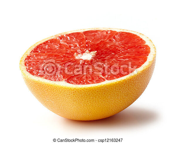 grapefruit, helft - csp12163247