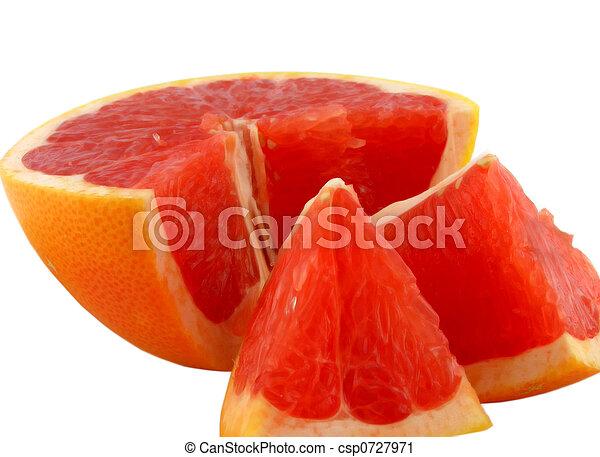 grapefruit., kromki - csp0727971