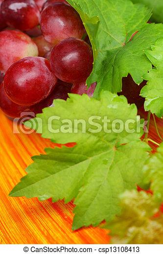 Grapes - csp13108413