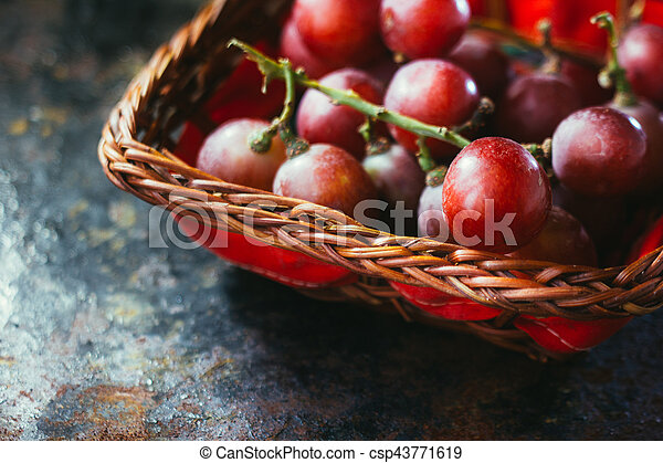 Grapes - csp43771619