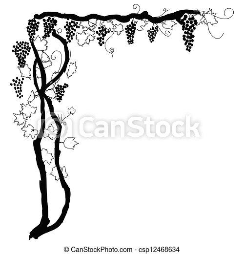 grapevine corner - csp12468634