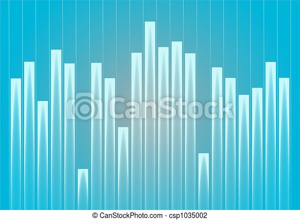 graph background abstract business blue stats graph chart