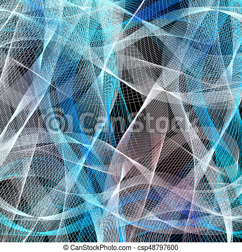 Graphic abstract light waves - csp48797600