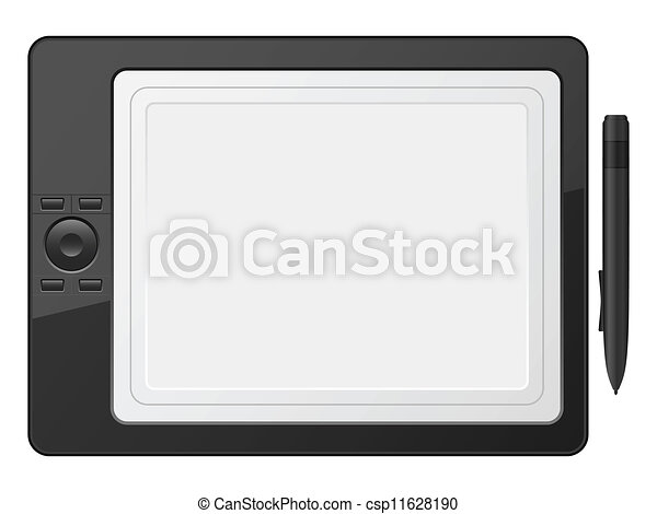 graphic tablet - csp11628190