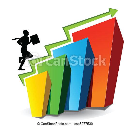 graphique, business - csp5277530