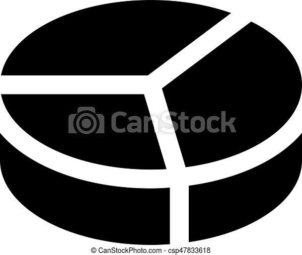 graphique circulaire - csp47833618
