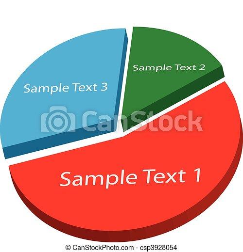 graphique circulaire - csp3928054