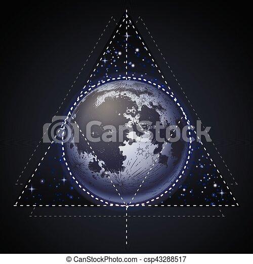 Graphique pleine lune tatouage graphique galactique clipart vectoris recherchez - Tatouage pleine lune ...