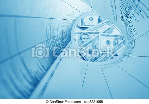 graphique, tube - csp5221098
