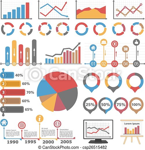 graphiques, diagrammes - csp26515482