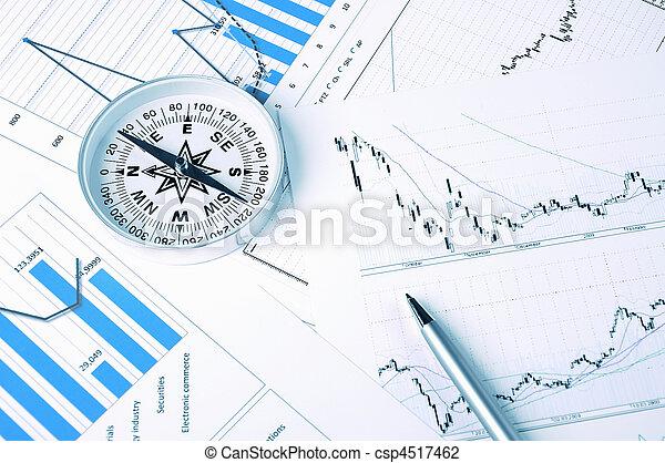Graphs and charts. - csp4517462