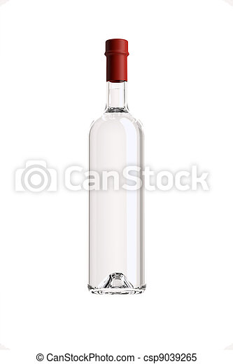 grappa, botella - csp9039265