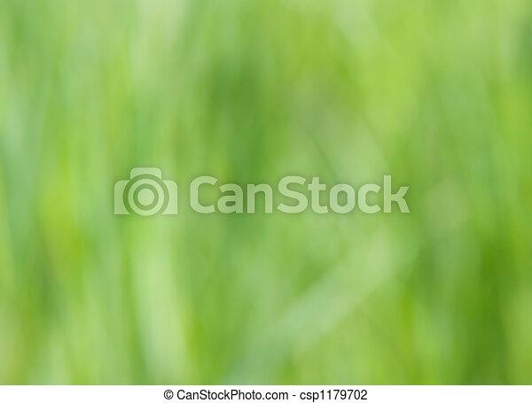 gras, blurry - csp1179702