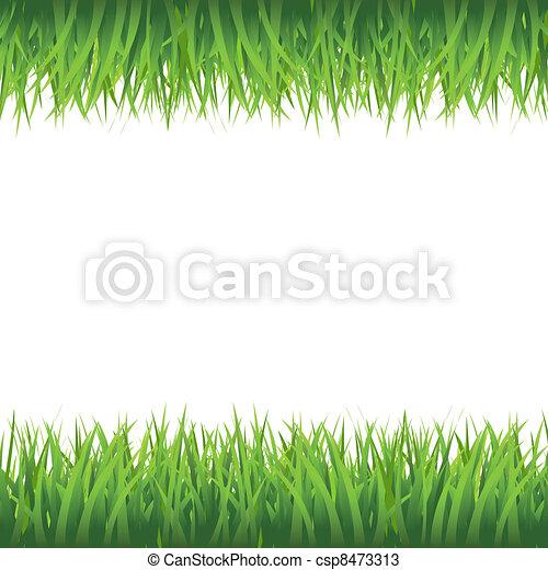 Grass Border - csp8473313