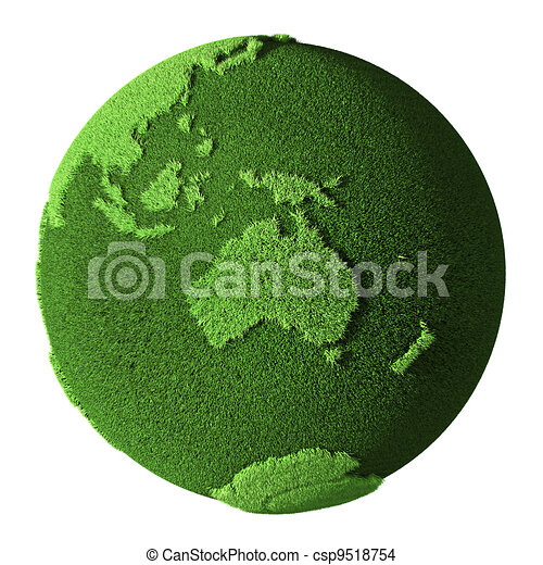 Grass Globe - Australia - csp9518754