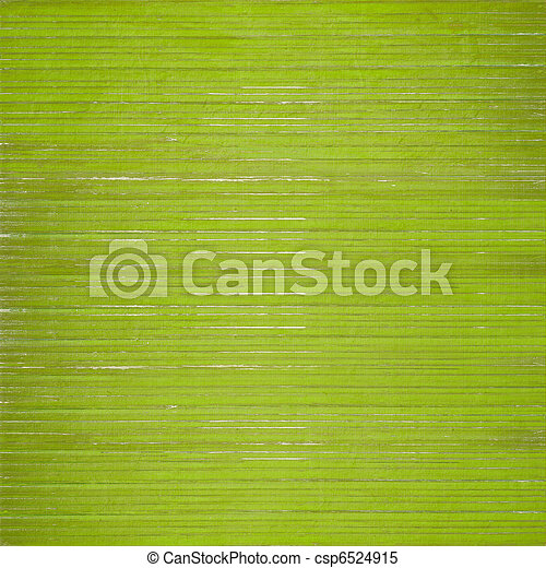 Grass green wooden slatted background - csp6524915