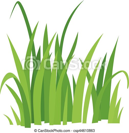 grass icon cartoon style grass icon cartoon illustration clip rh canstockphoto ca  green grass field clipart