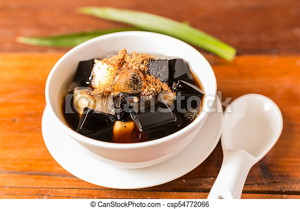 Grass jelly - csp54772066