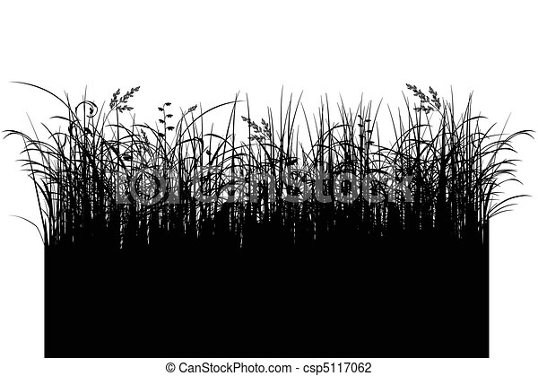 Line Drawing Grass : Grass silhouette clip art search illustration drawings and eps