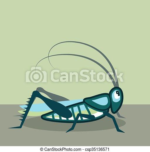 Grasshopper  - csp35136571