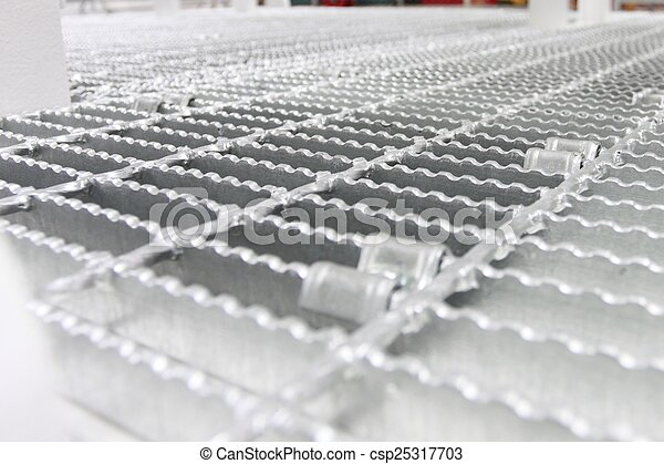 Grating for skid structure