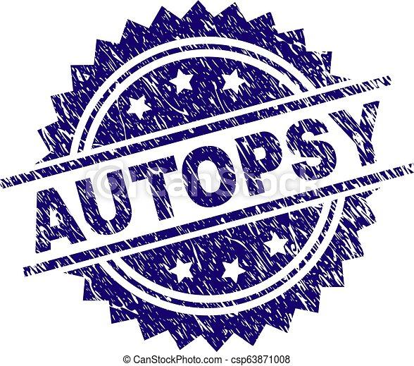 gratté, timbre, textured, autopsie, cachet - csp63871008