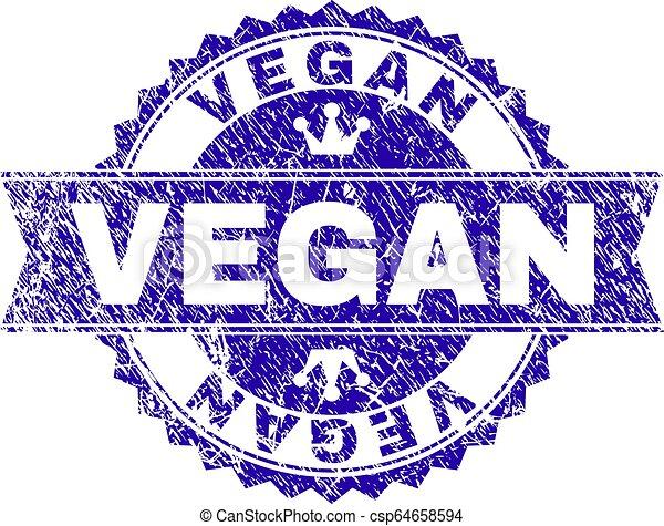 gratté, timbre, textured, vegan, cachet, ruban - csp64658594