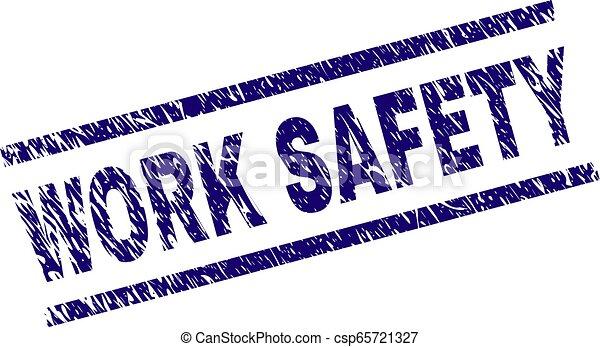 gratté, timbre, travail, sécurité, textured, cachet - csp65721327