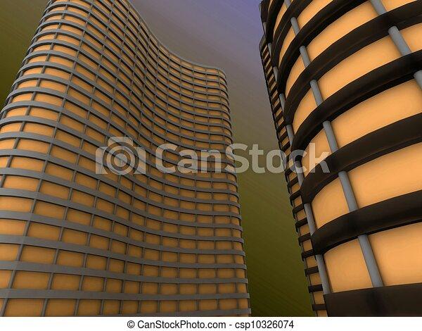 grattacieli - csp10326074