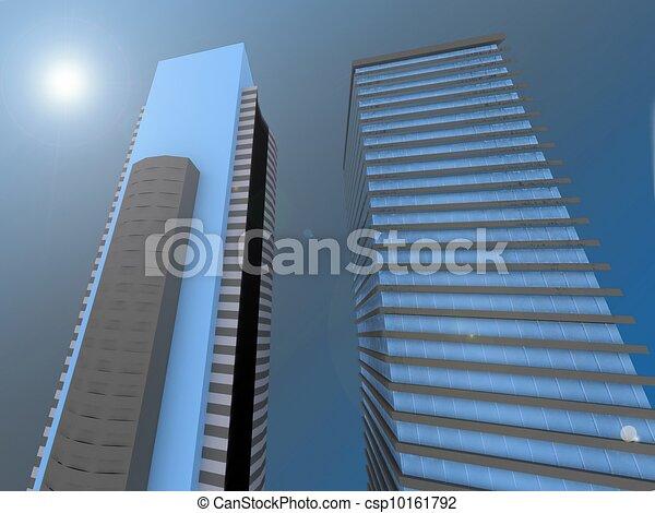 grattacieli - csp10161792