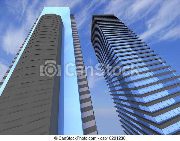 grattacieli - csp10201230