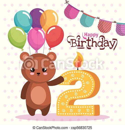 Grattis på födelsedagen kort