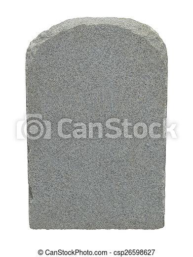Grave Stone - csp26598627