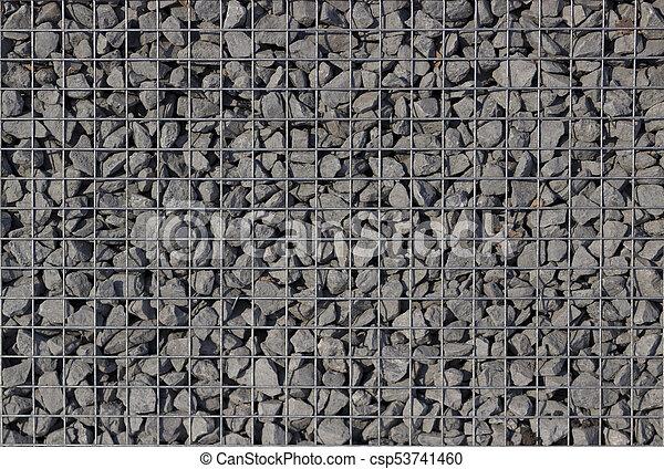 Black Gravel Texture