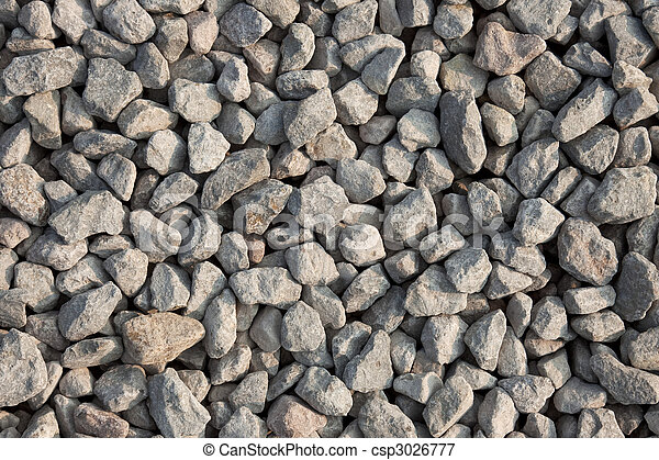 Gravel texture - csp3026777