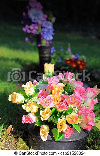 Graveside Flowers - csp21520024